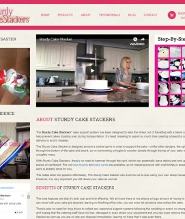 Case Study - Sturdy Cake Stackers